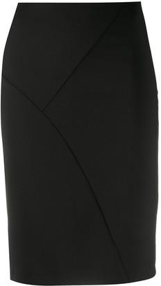 Patrizia Pepe Multi-Panel Pencil Skirt