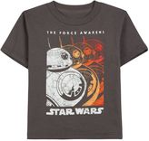Star Wars Episode VII The Force Awakens Toddler Boy BB-8 Gradient Tee