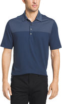 Van Heusen Short Sleeve Blocked Feeder Stripe Polo Shirt