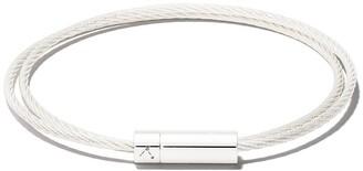 Le Gramme Le 9 Grammes Double Cable bracelet