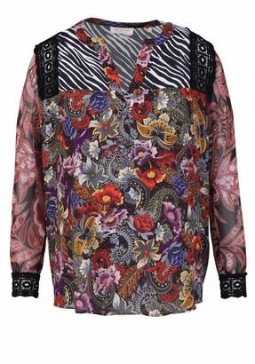 Rich & Royal rich&royal Women's Blouse Print Mix