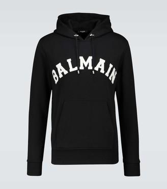 Balmain College hooded sweater