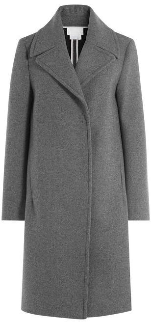 DKNY Coat with Oversized Collar