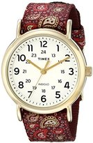 Timex Women's TW2P810009J Weekender Collection Two-Tone Watch