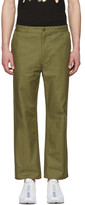 Perks And Mini Green P.a.mtopia Chino Trousers