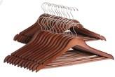 Great American Hanger Co. Flat Body Wooden Hangers - 25-Pack