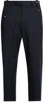 Oamc Drift wool-blend cropped trousers