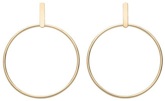 ROSEFIELD Iggy Hoop Bar Earring Gold
