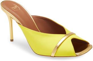 Malone Souliers Lucia Square Toe Slide Sandal