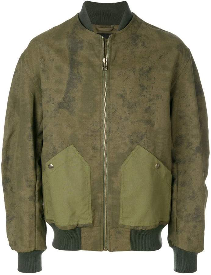 Mr & Mrs Italy back compartment bomber jacket