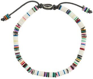 M. Cohen African beaded bracelet