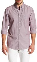 Dockers Standard Fit Long Sleeve Pinstripe Poplin Shirt