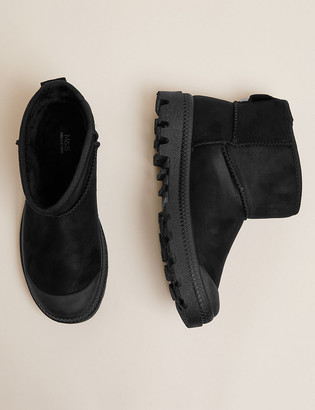 Marks and Spencer Toe Cap Pull On Ankle Boots