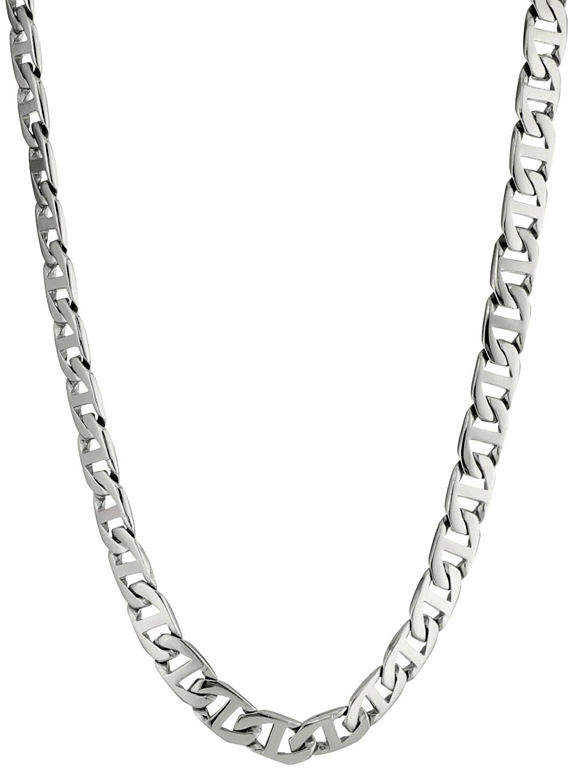 JCPenney FINE JEWELRY Mens Stainless Steel 30 10mm Marine Link Chain