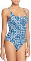Tommy Bahama Reversible Lace One Piece Swimsuit