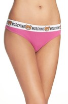 Moschino Women's Underbear Logo Briefs