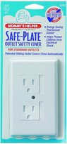 Mommys Helper Mommy's Helper Safe Plate for Electric Outlet - with Single Center Screw [Baby Product]