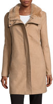 Liz Claiborne Wool-Blend Coat