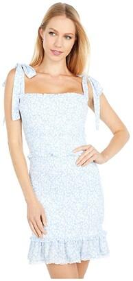 Lost + Wander Endless Summer Cami Mini Dress (Sky Blue/White) Women's Dress