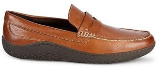Cole Haan Grand Traveler Leather Penny Loafers