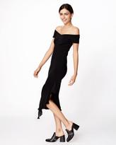 Nicole Miller Off The Shoulder Dress