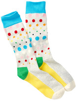 Happy Socks Dot Crew Sock