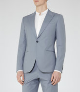 Reiss Reiss Jeremey B - Slim-fit Blazer In Blue