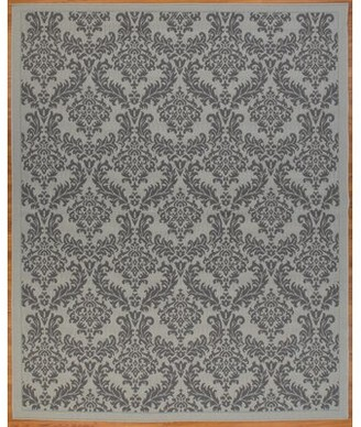 House Of Hamptonâ® Schick House of Hampton Flatweave Polypropylene Light Gray/Anthracite Indoor/Outdoor use Area Rug House of HamptonA Rug Size: Rectangle 7'10'' x 9'10