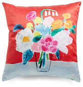 Kate Spade New York Painted Ogee Bouquet Pillow