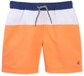 Petit Bateau Boys tricolor swim shorts