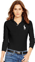 Polo Ralph Lauren Skinny Fit Long-Sleeve Polo
