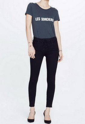 Singer22 HIGH WAISTED LACE UP LOOKER JEAN