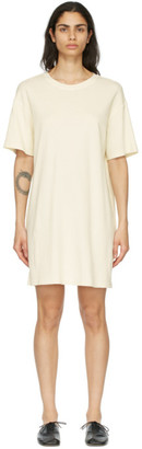 Raquel Allegra Beige T-Shirt Dress