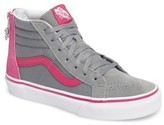 Vans Girl's Sk8-Hi Zip-Up Sneaker
