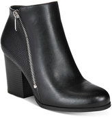 Bar III Pieta Zipper Block-Heel Booties, Only at Macy's