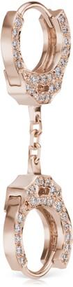 Maria Tash 6.5mm Short Chain Diamond Handcuff Clickers