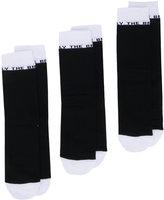 Diesel 'Only the Brave' 3 pack socks - men - Cotton/Nylon/Spandex/Elastane - S