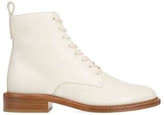 Vince Cabria Leather Combat Boots
