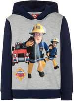 Fireman Sam FEUERWEHRMANN Hoodie light grey melange/navy