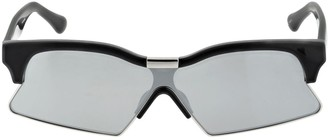 Marcelo Burlon County of Milan Acetate Sunglasses W/ Mirror Lenses