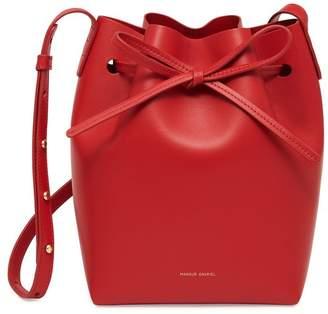Mansur Gavriel Calf Mini Bucket Bag - Flamma