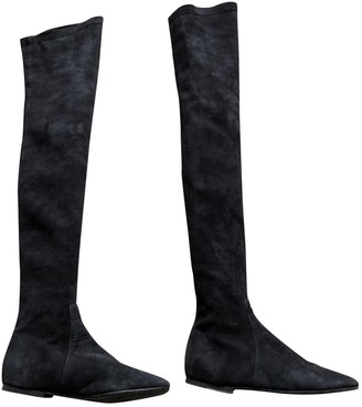 Etoile Isabel Marant Black Suede Boots