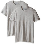 Columbia Men's 2-Pack Performance Cotton Stretch Crew Neck T-Shirt