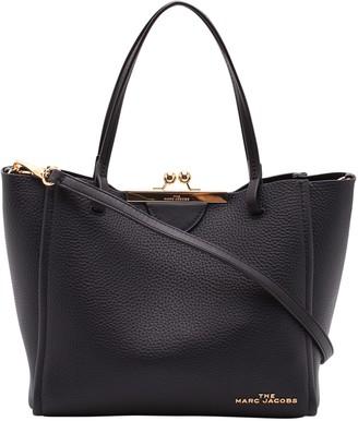 Marc Jacobs kiss Lock Mini Leather Tote Bag