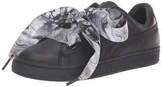 Puma Women's Basket Heart Patent WN's Sneaker