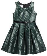Iris & Ivy Toddler Girl's Jacquard Dot Dress