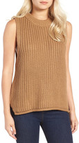 J.o.a. Rib Knit Sleeveless Sweater