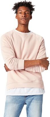 Find. Men's Sweatshirt with Raglan Sleeve in Relaxed Cut