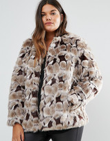 Junarose Plus Faux Fur Jacket