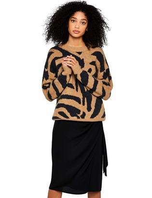 Find. Tiger Jumper Pullover Beige (Camel/Black) 38 Medium